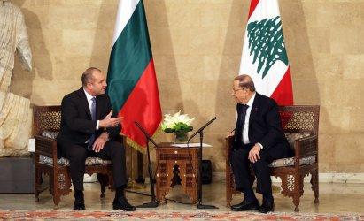 Румен Радев на лов за ливански инвестиции и общи пазари