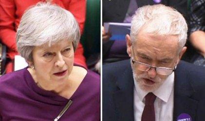 Резерви и сред торите, и сред лейбъристите за преговорите между Мей и Корбин