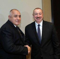 Борисов обсъди азерски газови доставки за хъба