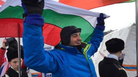 Петър Стойчев стана за втори път световен шампион по плуване на 1000 м в ледени води