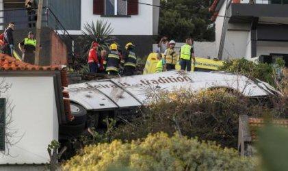 Всички 29 загинали при автобусната катастрофа на остров Мадейра са германци