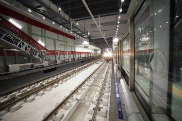 Тръгнаха изпитанията на влаковете по третата линия на метрото