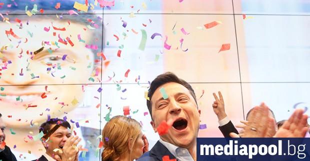 Снимка: Зеленски спечели изборите в Украйна, но истинските изпитания предстоят