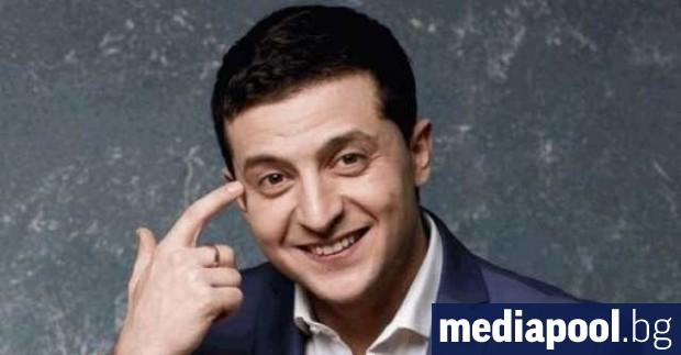 Снимка: Комикът Зеленски е новият президент на Украйна