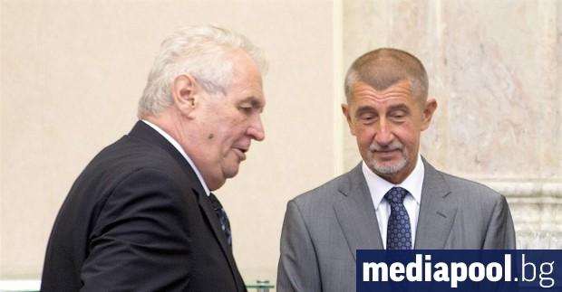 Дали премиерът Андрей Бабиш и президентът Милош Земан искат да