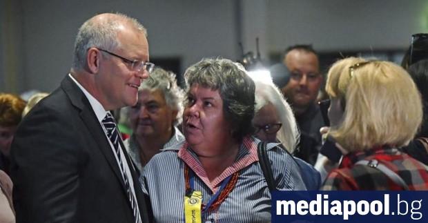 Предизборната кампания в Австралия взе бурен обрат днес - демонстрантка