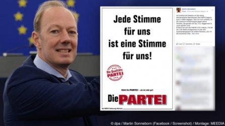 Германска сатирична партия издига за евроизборите кандидати с имена на нацистки лидери