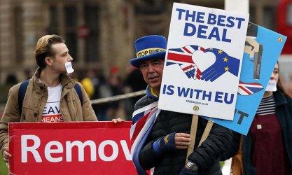 Разделена Великобритания гласува  на европейските избори, в които  не смяташе да участва
