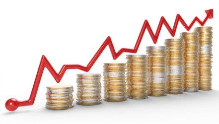 Икономическият растеж за тримесечието се покачи до 3.4%