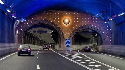 Авария в електрозахранването на тунел