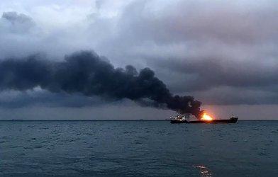 Товарен кораб се запали край Майорка