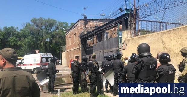 Безредици избухнаха в затвор в южния украински град Одеса и