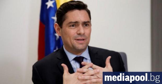 Представител на провъзгласилия се за временен президент на Венецуела Хуан