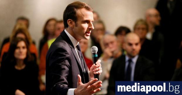 Френският президент Еманюел Макрон потвърди своята увереност, че е необходим