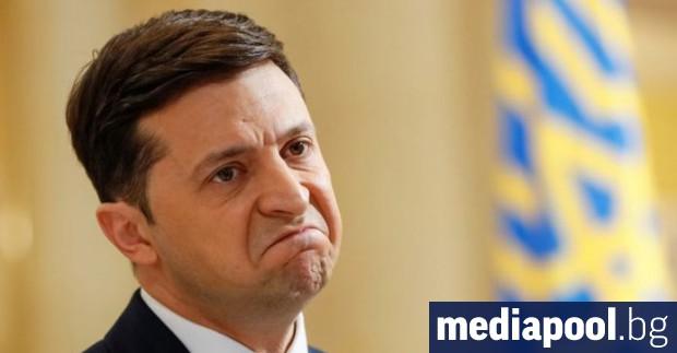 Екипът на украинския президент Володимир Зеленски призова гражданите да се