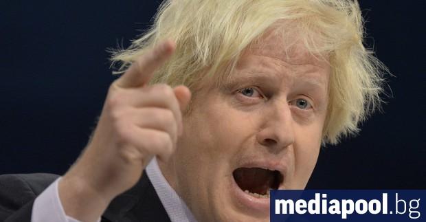 Бившият британски външен министър Борис Джонсън даде заявка, че ще