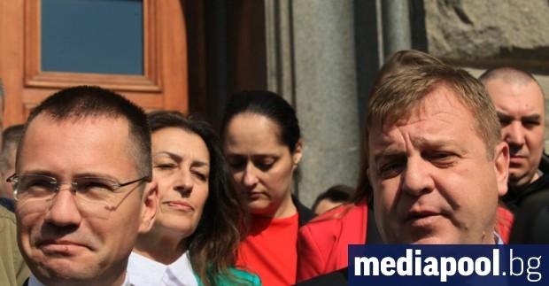 ВМРО, която със сигурност ще изпрати Ангел Джамбазки за втори