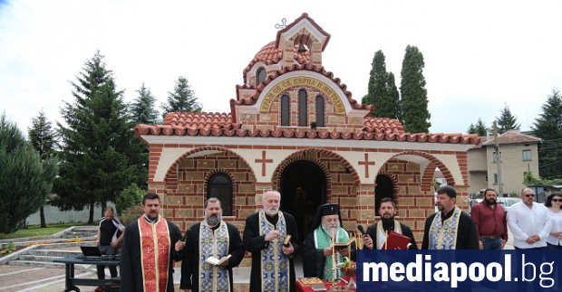 На 24 май Плевенският митрополит Игнатий извърши тържествено освещаване на