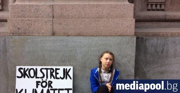 Шведската активистка за климата Грета Тунберг планира да прекъсне училище