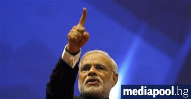 Управляващата коалиция в Индия - Национален демократичен алианс, оглавявана от