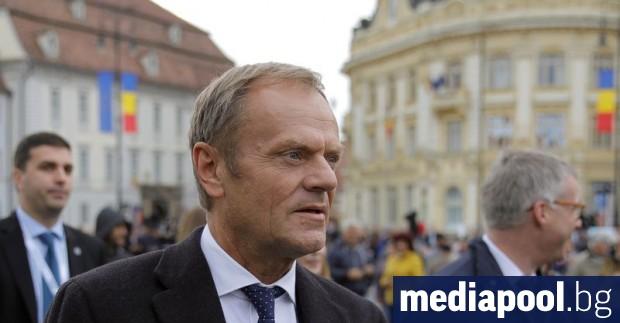 Председателят на Европейския съвет Доналд Туск смята, че има 20-30