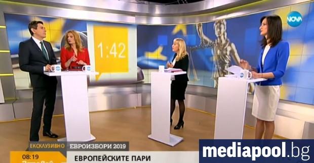 В първия телевизионен дебат между водачите на ГЕРБ Мария Габриел