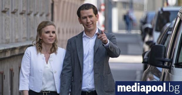 Австрийската народна партия (АНП) на канцлера Себастиан Курц печели изборите