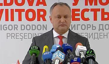 Конституционният съд на Молдова отстрани президента Игор Додон