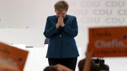 Зелените в Германия изпревариха по подкрепа коалицията на Меркел