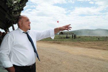 Поезия, сълзи и ракети: Фейсбукът на Борисов на 13 юни