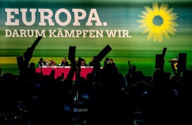 Зелените в Германия имат почти равна подкрепа с консерваторите на Меркел