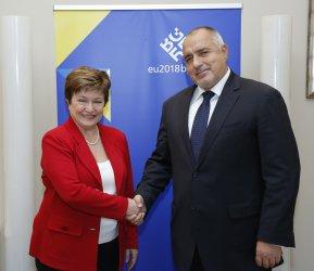 Кристалина Георгиева е в играта за високите постове в ЕС