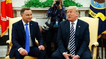 Полша и САЩ ще обявят, че засилват военното си партньорство