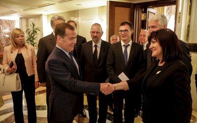 "Руският премиер: ""Росатом"" ще играе за инвеститор в АЕЦ ""Белене"""