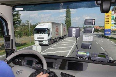 Бордовото устройство на камиона става банковата му карта