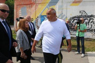 Борисов: Напоследък всичко, което правим, президентът го промотира