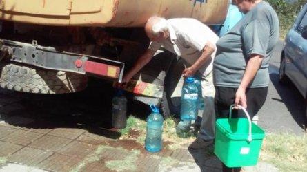 Водата в Стрелча тръгна, но само за битови нужди