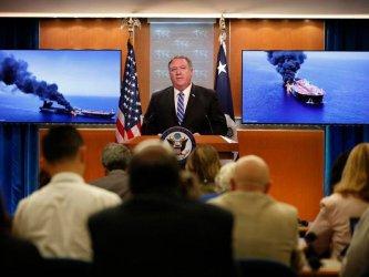 САЩ обвиниха Иран за нападението срещу танкери, Техеран отрича