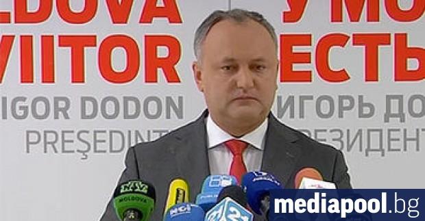 Конституционният съд на Молдова освободи от поста президента Игор Додон