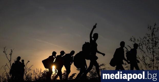 Полицията в Северна Македония задържа 50 мигранти, влезли на нейна