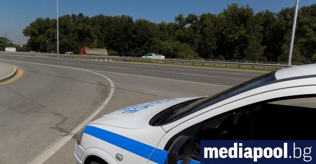 Верижна катастрофа затрудни временно движението по магистрала