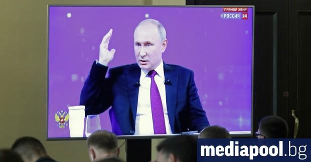 Президентът Владимир Путин обеща по-висок стандарт на руснаците в предаването