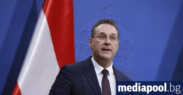Лидерът на Австрийската партия на свободата (АПС) Хайнц Кристиан Щрахе,
