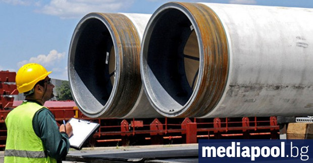 Проектът за изграждането на продължението на руския газопровод