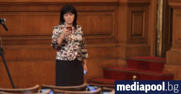 Български депутати, водени от председателя на Народното събрание Цвета Караянчева,