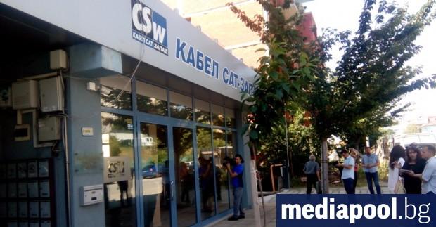 """Офисите на """"Кабел САТ–Запад""""в Благоевград се проверяват от ГДБОП и"""