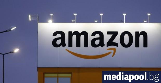 Американският гигант в търговията онлайн Амазон (Amazon) изпревари технологичните компании