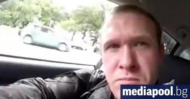 Австралиецът Брентън Тарант, заподозрян за нападението срещу две джамии в