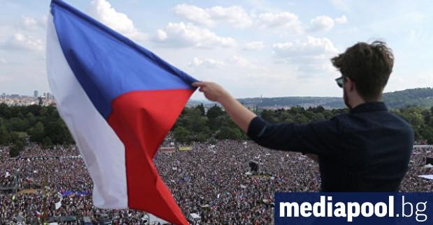 Около 250 хиляди чехи се събраха в столицата Прага на