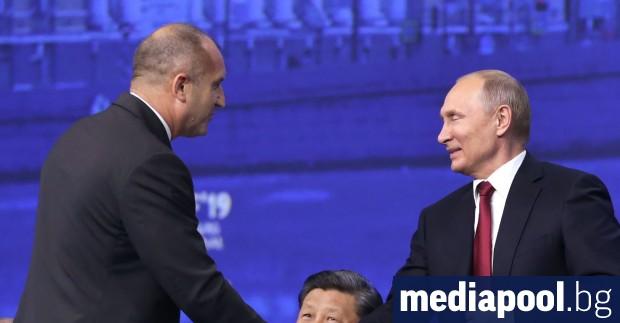 С думите, че цената на руския природен газ е